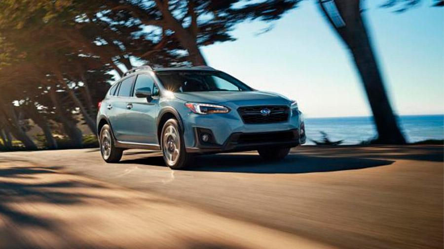 La Subaru XV tiene un estilo agresivo