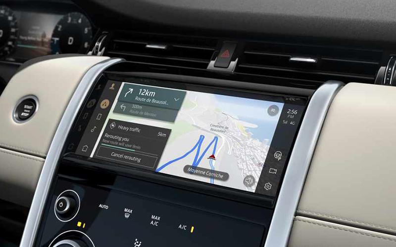 Land Rover Discovery Sport infoentretenimiento pivi