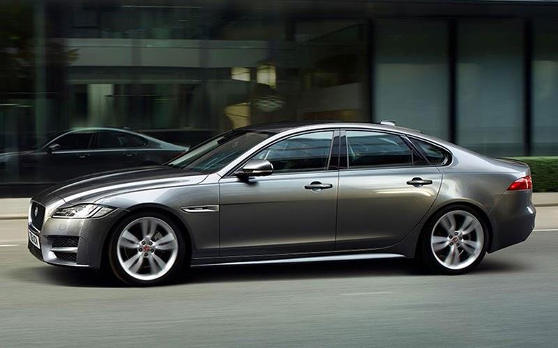 Jaguar XF gris