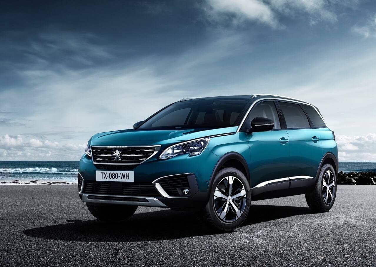 Peugeot 5008 azul