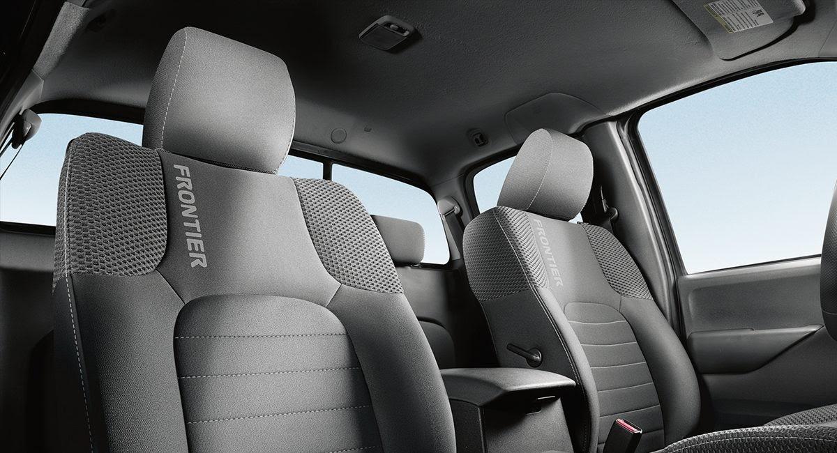 Nissan Frontier Pro 4x interior