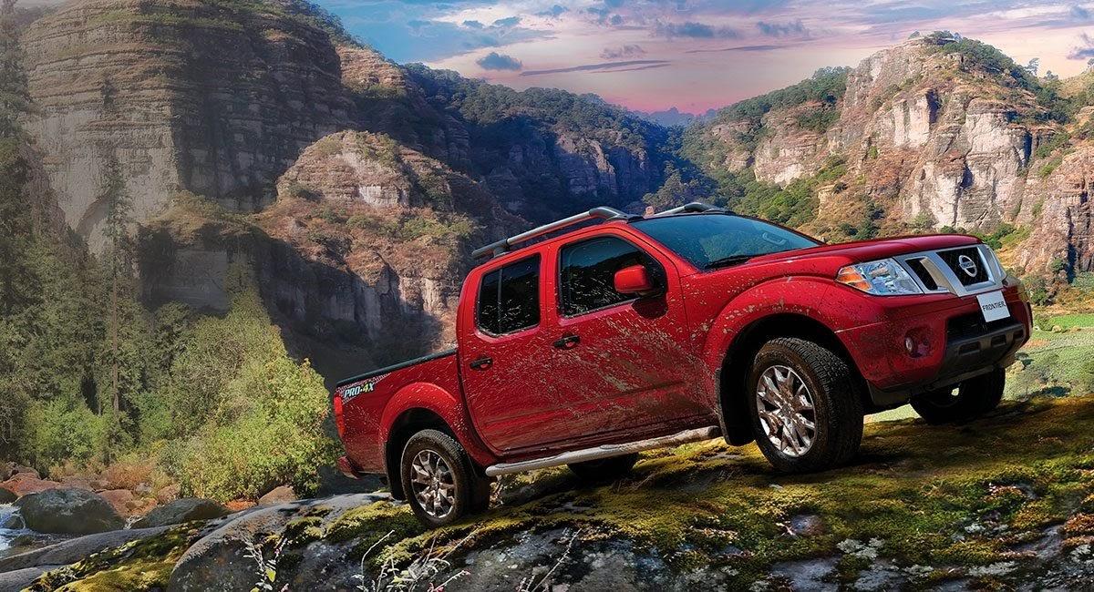 Nissan Frontier Pro 2x rojo