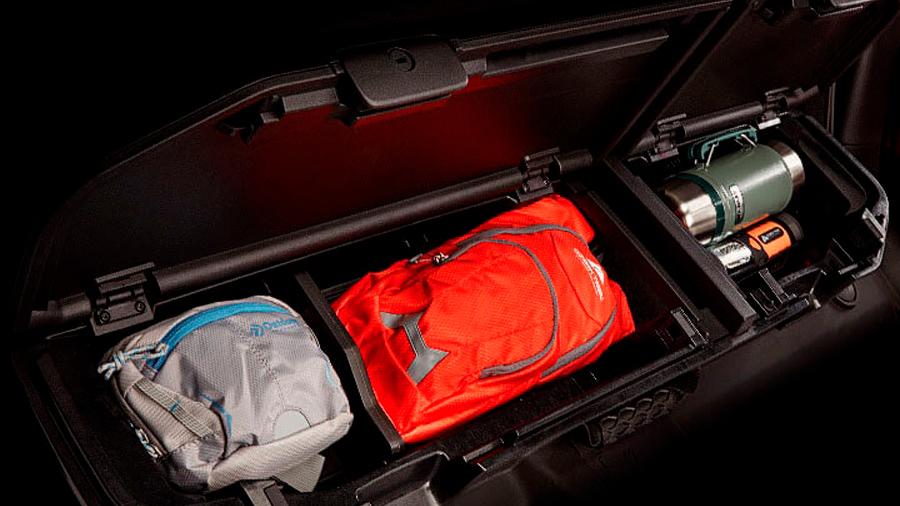 La camioneta también resulta funcional y práctica durante las excursiones