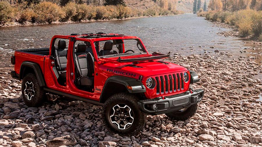 La Jeep Gladiator es una todoterreno muy capaz