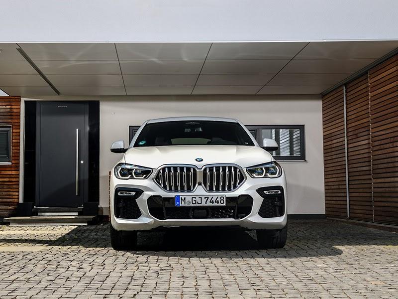 BMW X6 blanco