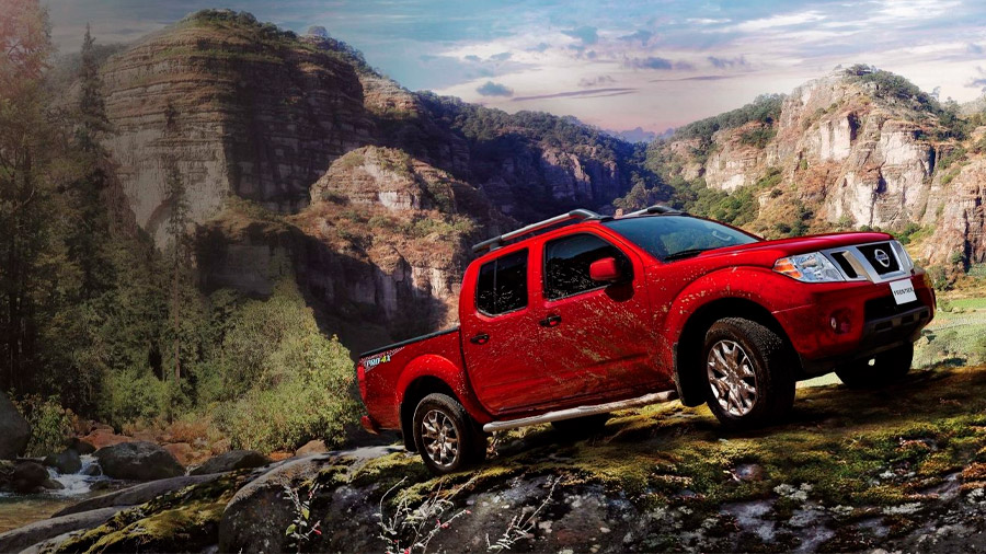 Esta camioneta está orientada a la conducción de aventura