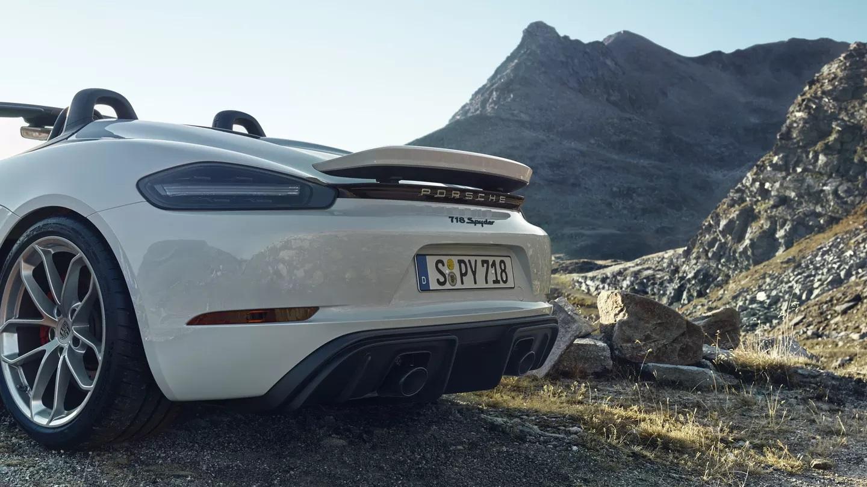 Porsche 718 Spyder 2020 resena opiniones