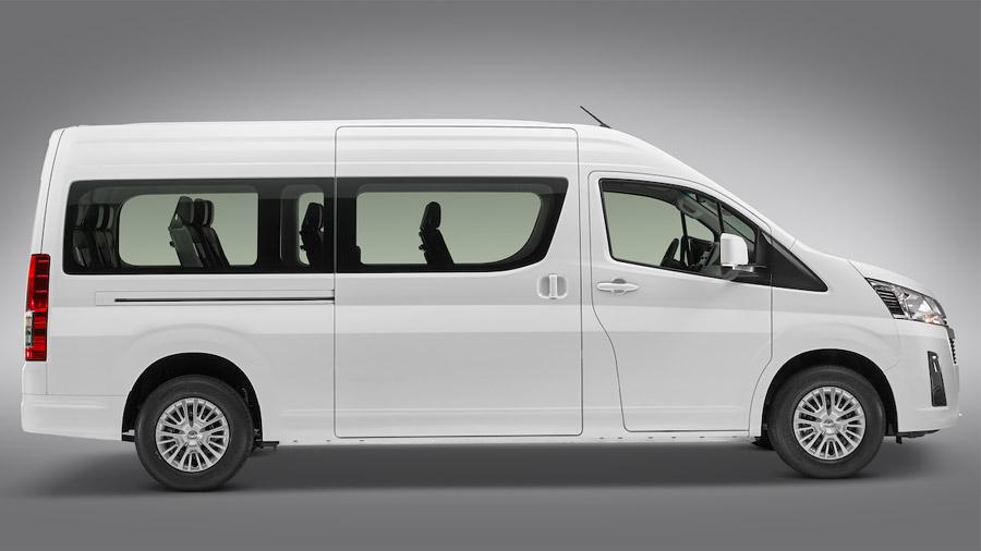 La Toyota Hiace es una van comercial versátil y funcional