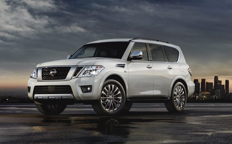 Nissan Armada blanco