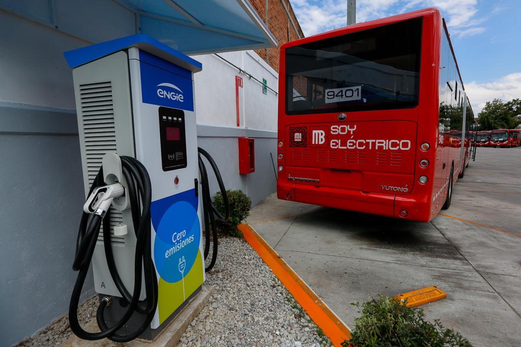 La Ciudad de México estrena Metrobús eléctrico