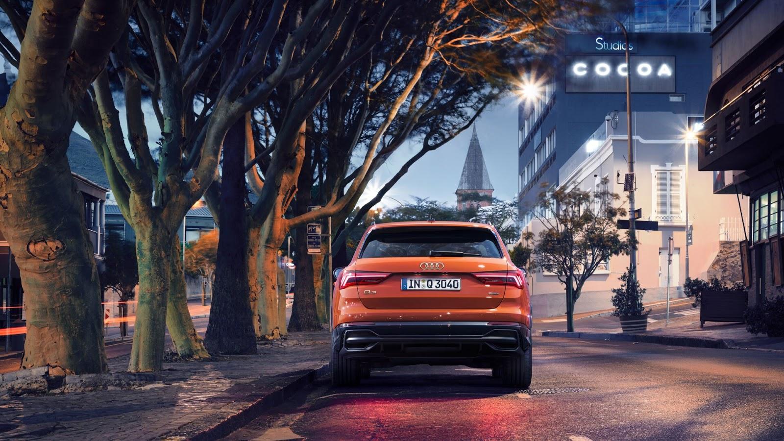 Audi Q3 naranja