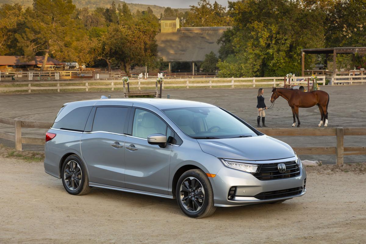 La Honda Odyssey es nombrada Top Safety Pick+