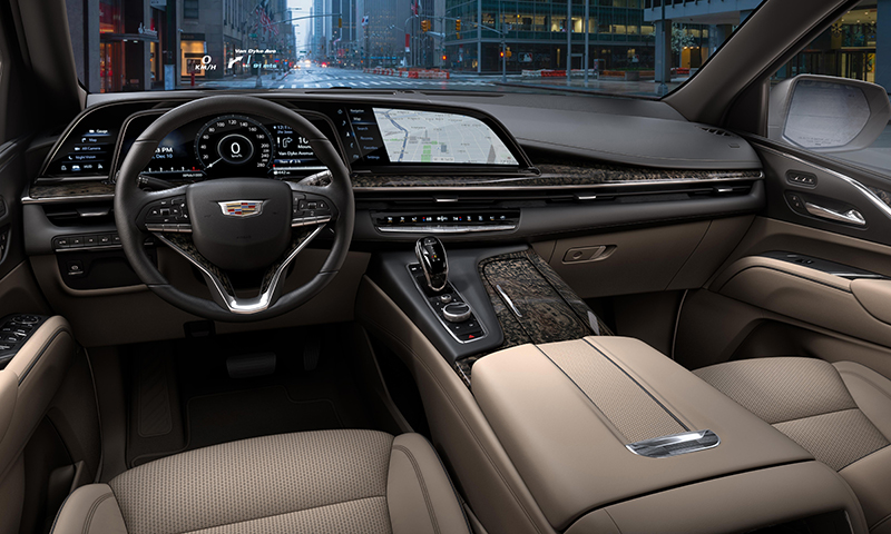 Cadillac Escalade 2021 interior