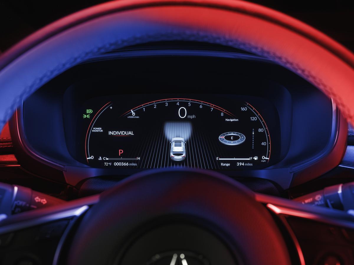 Nueva Acura MDX interior