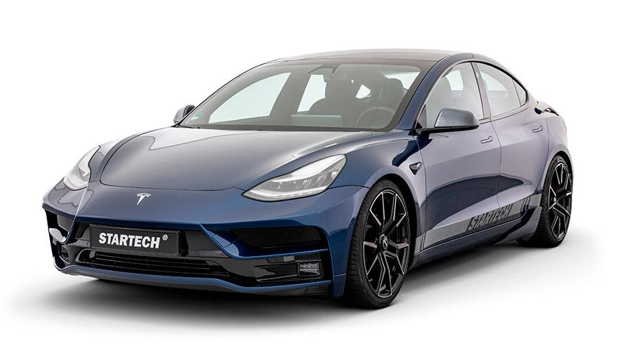 El Tesla Model 3 estrena un kit de carrocería