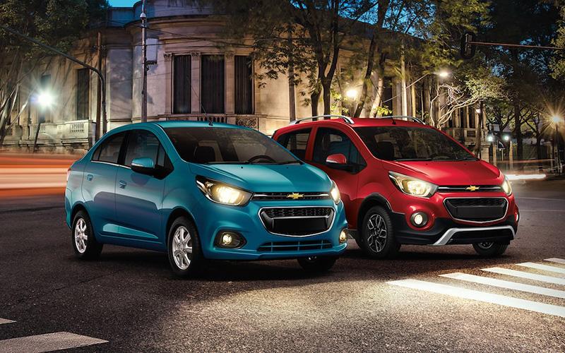 Chevrolet Beat 2021 versiones