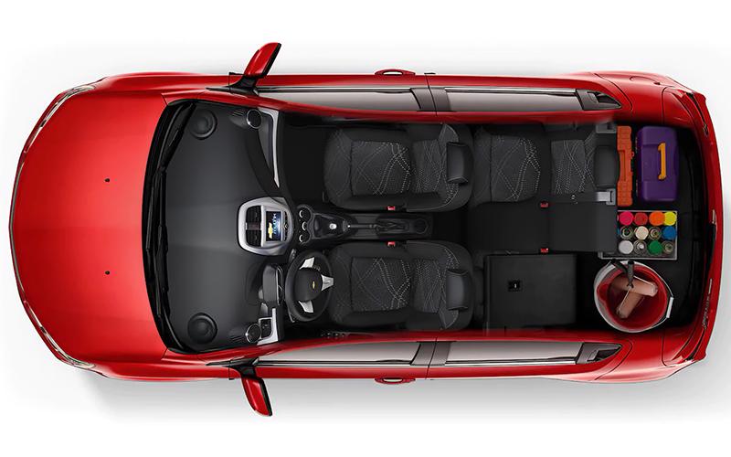 Chevrolet Beat 2021 interior espacio