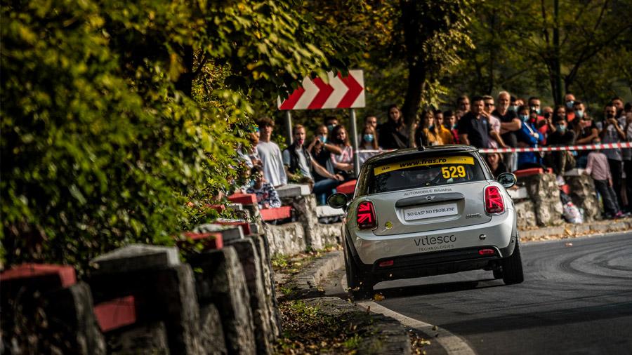 El Mini Cooper SE recibirá modificaciones más profundas para adaptarlo al mundo del rally
