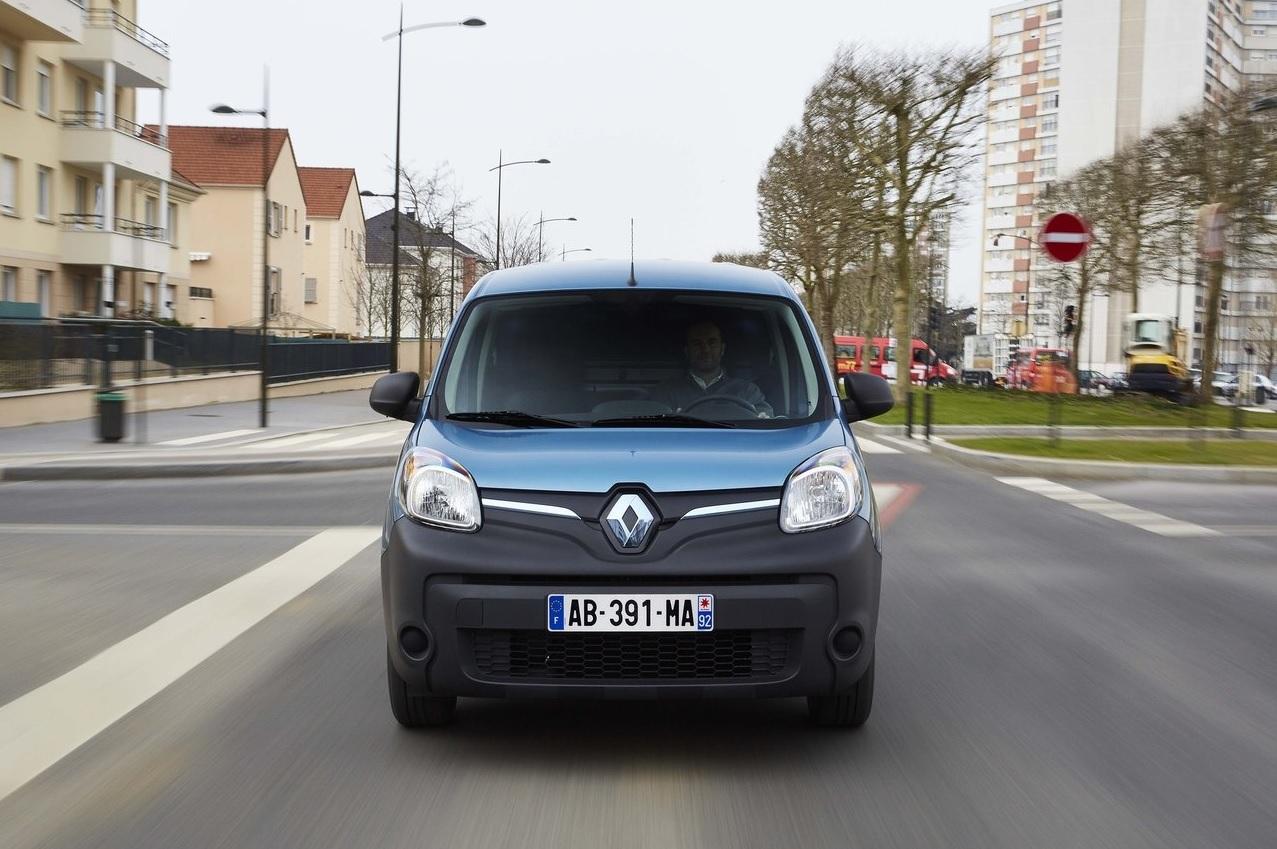 autos eléctricos - Renault Kangoo E.Z