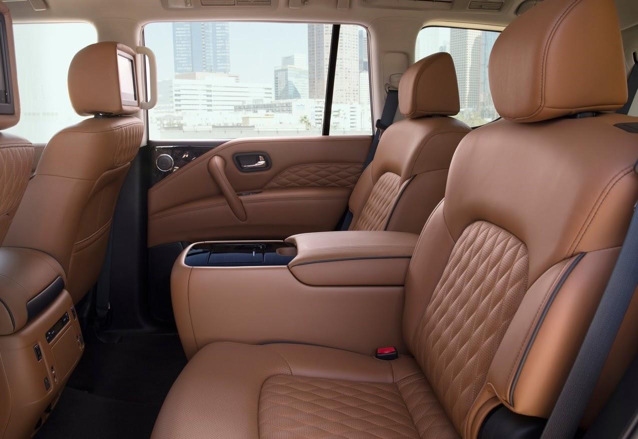 Infinity QX80 interior