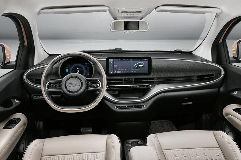 fiat 500 3+1 interior