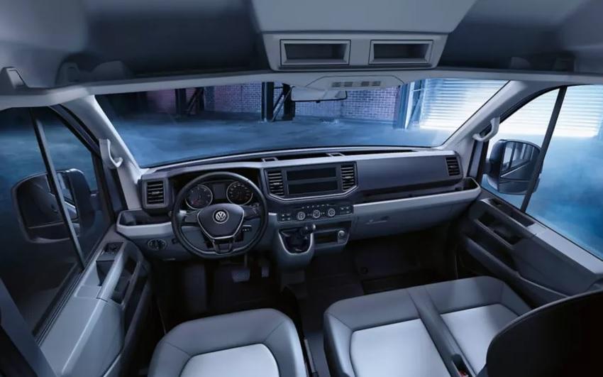 Volkswagen Crafter interior
