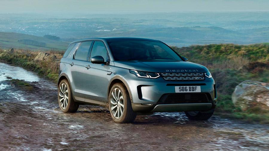 La Land Rover Discovery Sport es una SUV premium con gran capacidad para el off-road