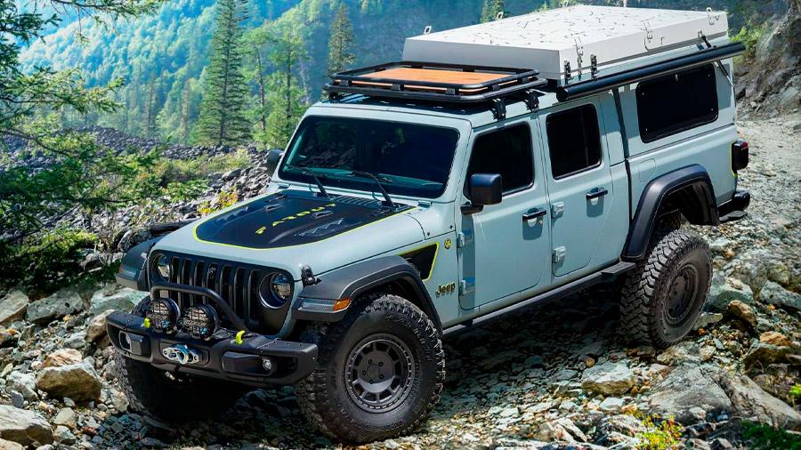 Jeep también llevaría su Gladiator Farout concept