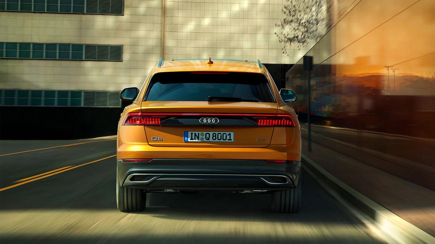 Audi Q8 55 TFSI S Line 2021 resena opiniones