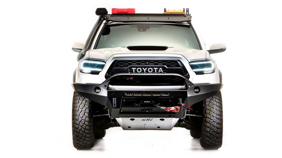 La pick-up recibió varios elementos para potenciar su capacidad off-road