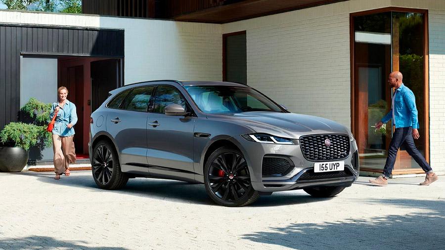 La SUV de Jaguar tiene un diseño elegante y atlético