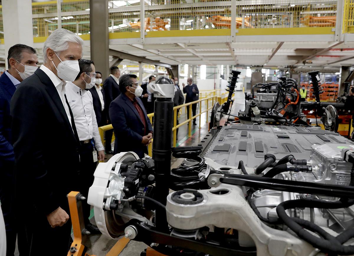 Producción Ford Mustang Mach-E