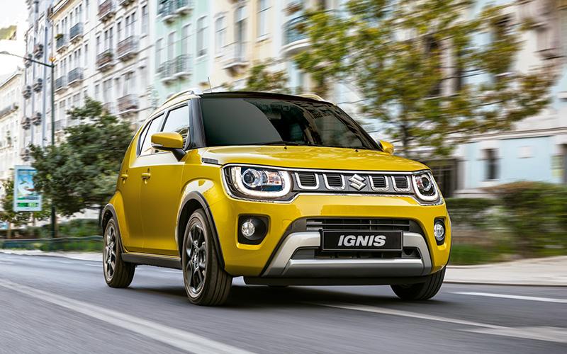 Suzuki Ignis Solar Amarillo