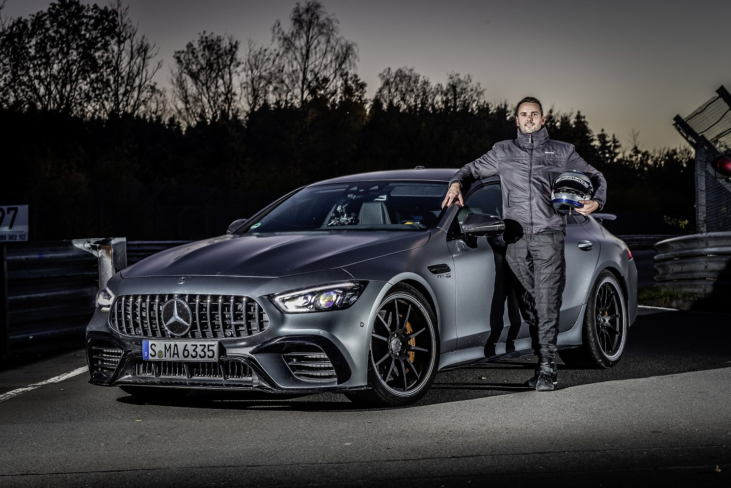 Mercedes-AMG GT 4-Door Coupé 63 S