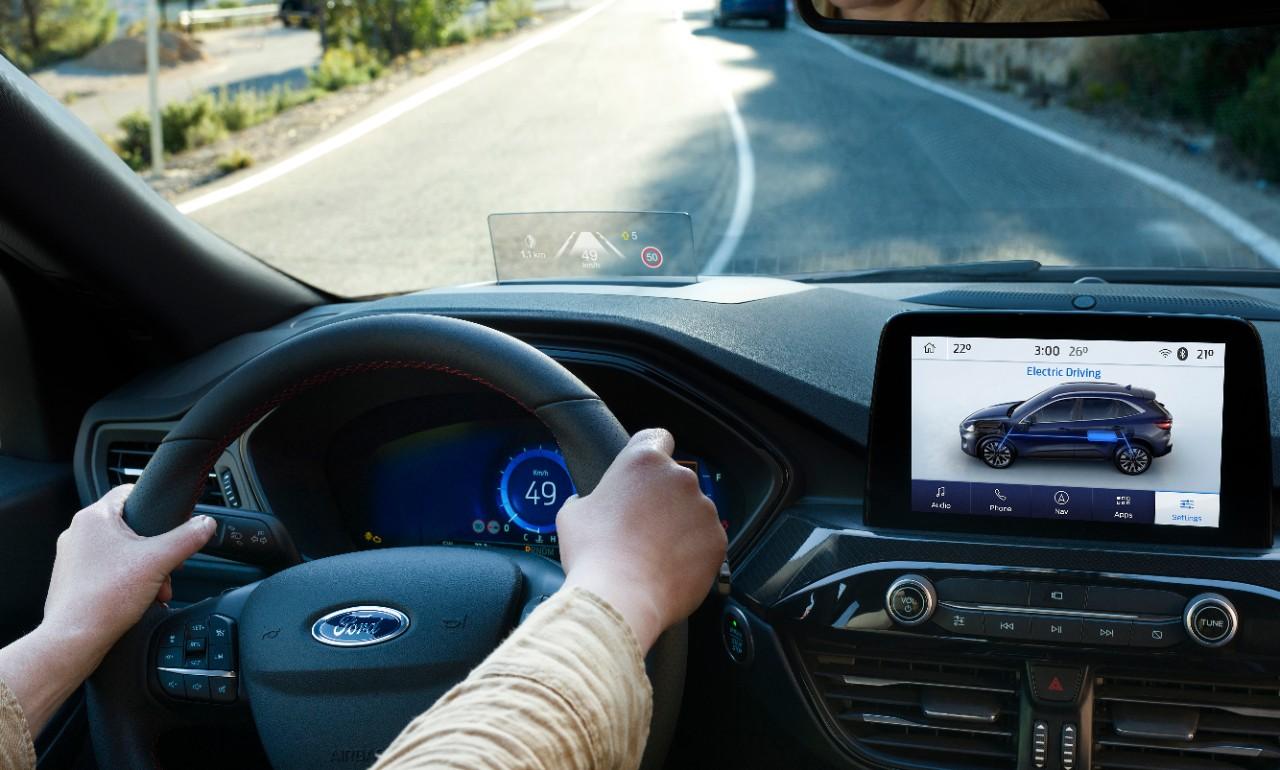 Ford desarrolla nueva asistencia de punto ciego