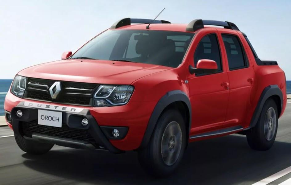 Renault Oroch rojo