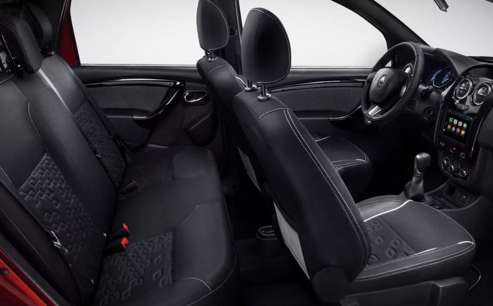 Renault Oroch interior