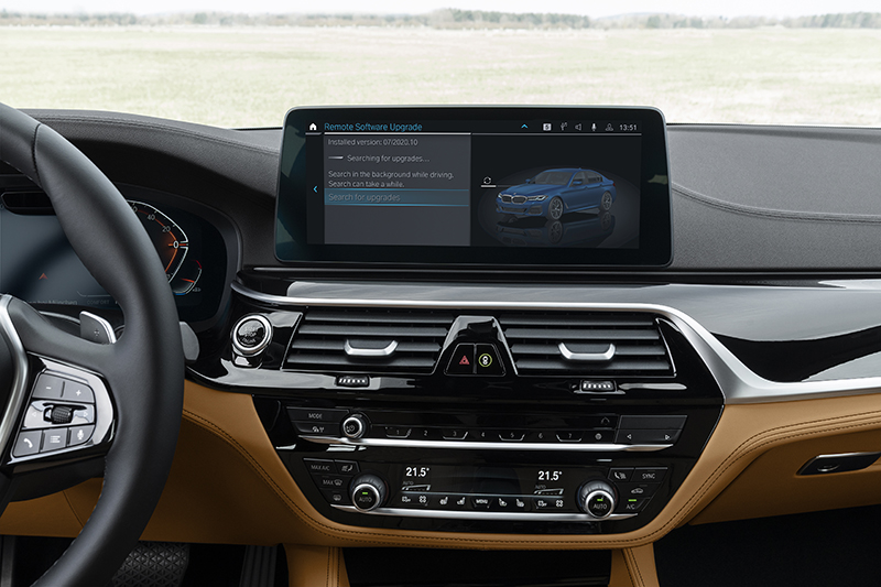 BMW 7 sistema operativo