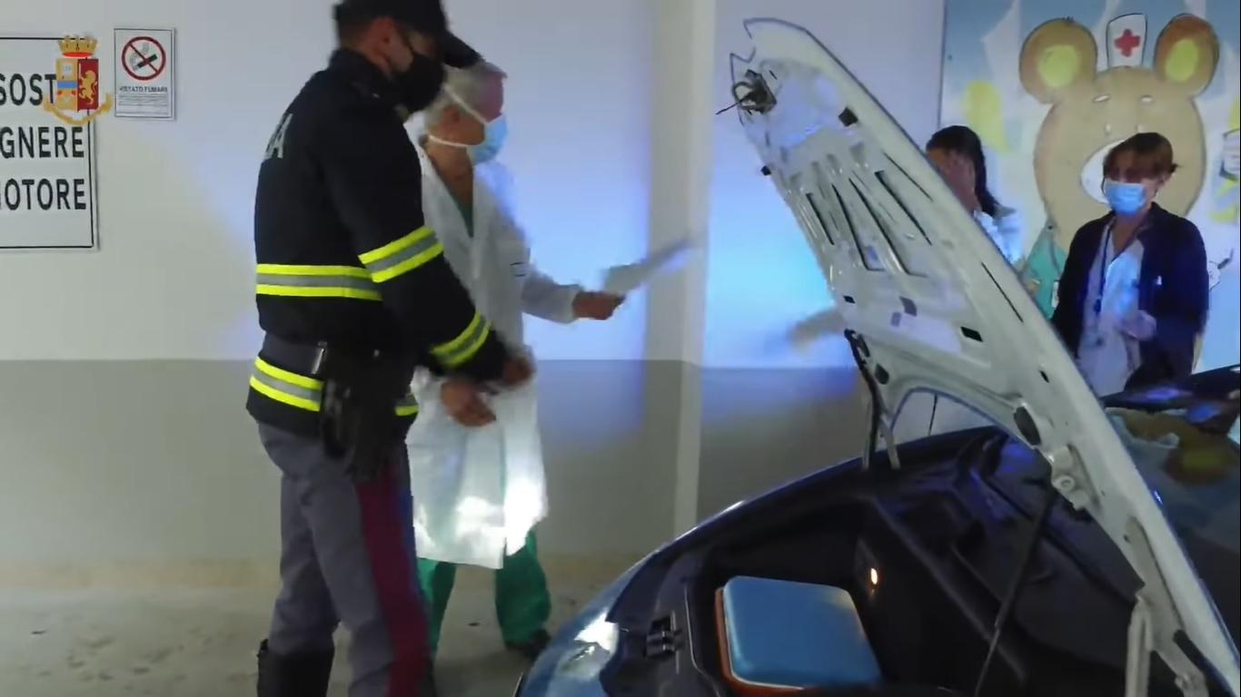 Lamborghini Huracán policía