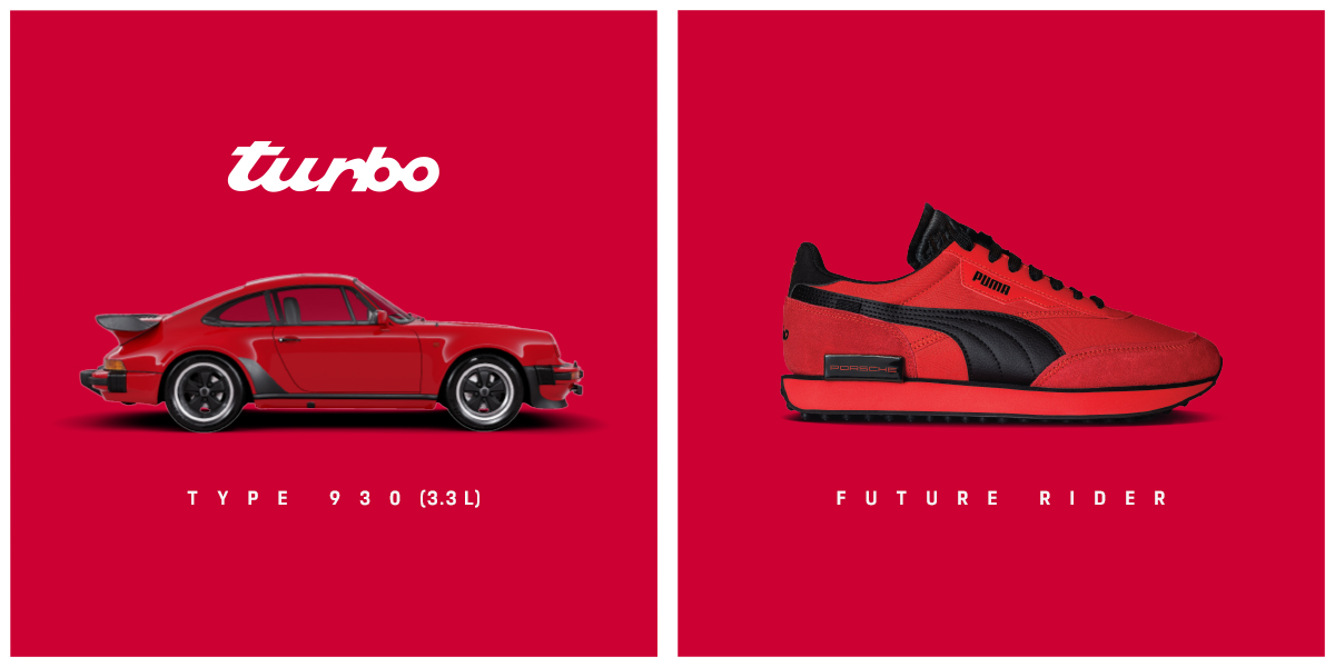 Porsche y Puma lanzan colección de tenis inspirados en el 911 Turbo