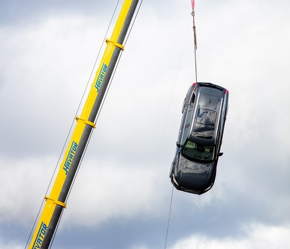 Volvo hace la prueba de impacto más extrema
