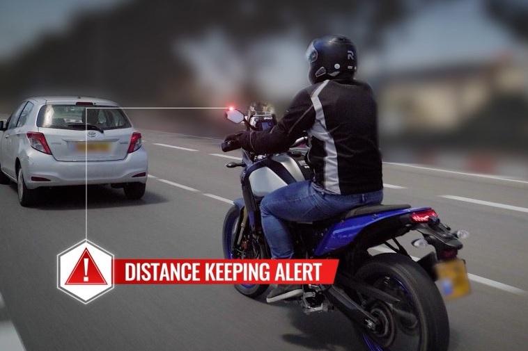 Video: Ride Vision crea sistema anti colisión para motos