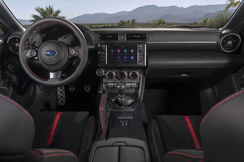 Subaru BRZ 2022 interior