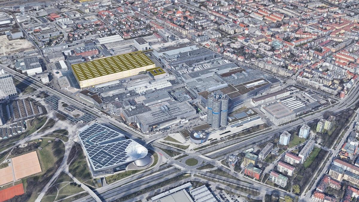 BMW planta de Múnich