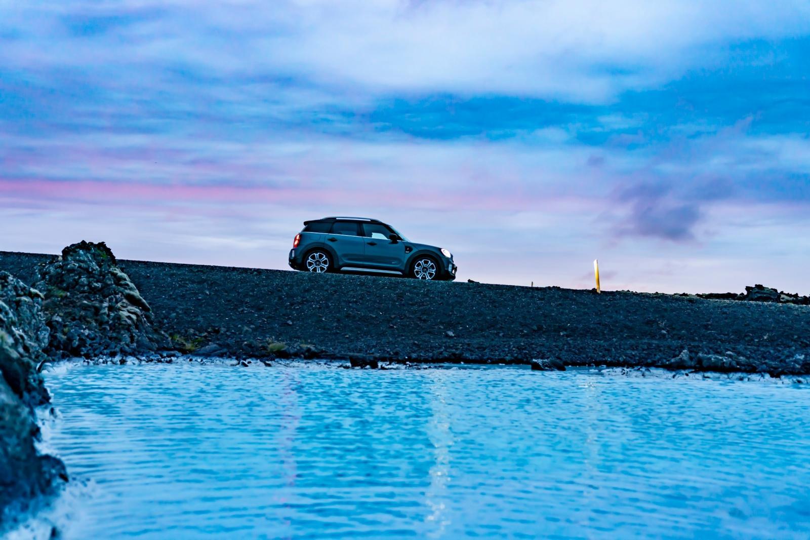 Prueban las habilidades de la Mini Cooper S Countryman ALL4 en Islandia