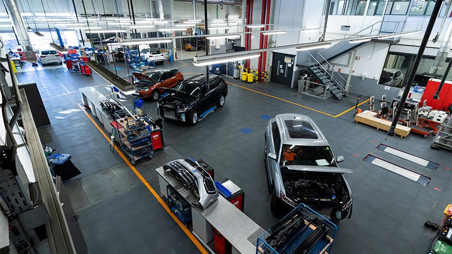 Es uno de los centros de pruebas de propulsión más completos y tecnológicos de todo el continente europeo