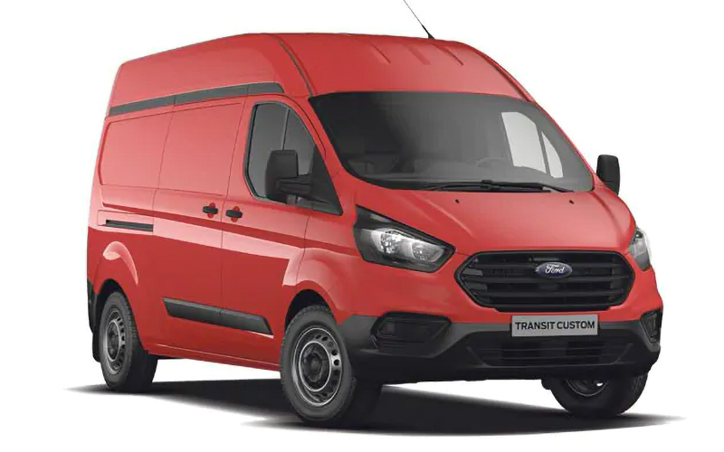 Ford Transit Custom Van Larga AA 2021 resena opiniones