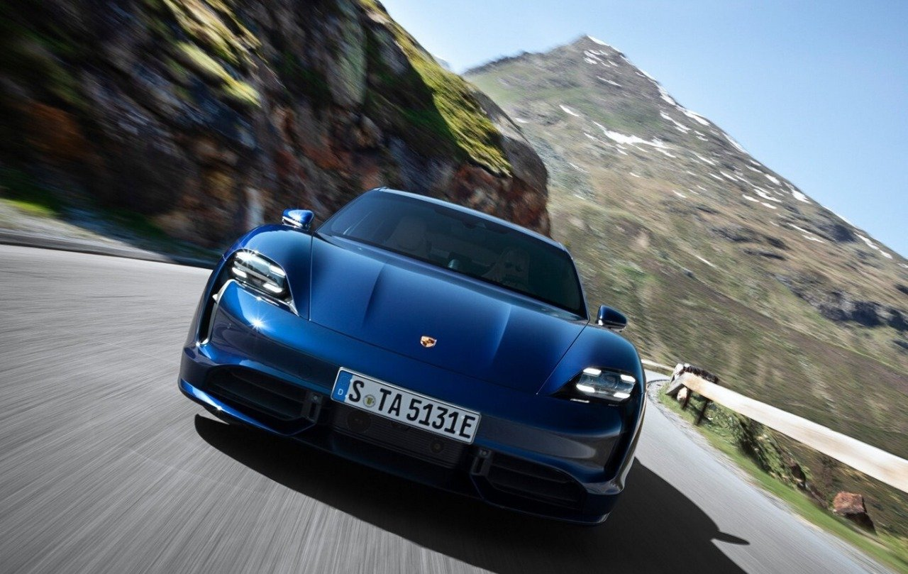 Porsche Taycan Turbo 2021 Tesla Model S Performance 2021 Comparativa