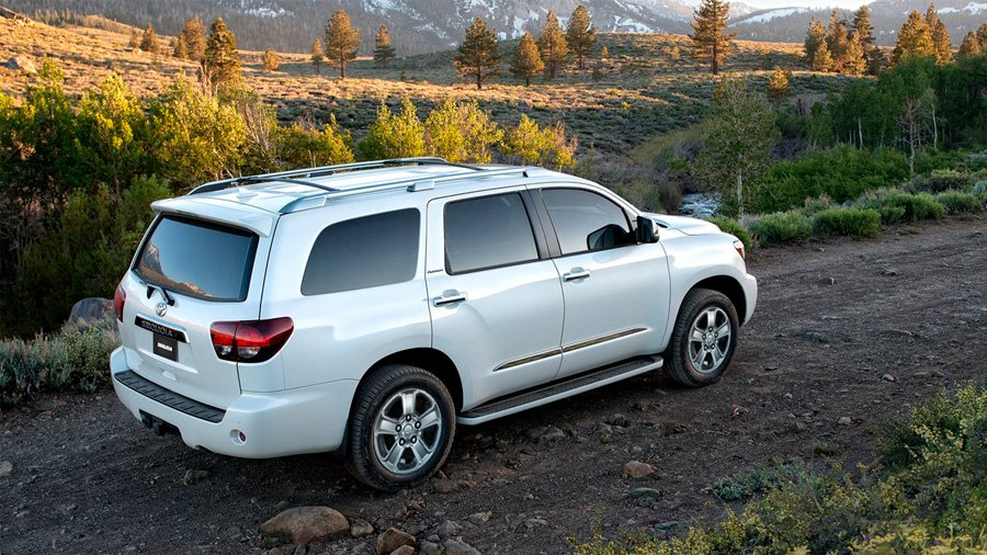 Toyota Sequoia Platinum 2021 resena opiniones