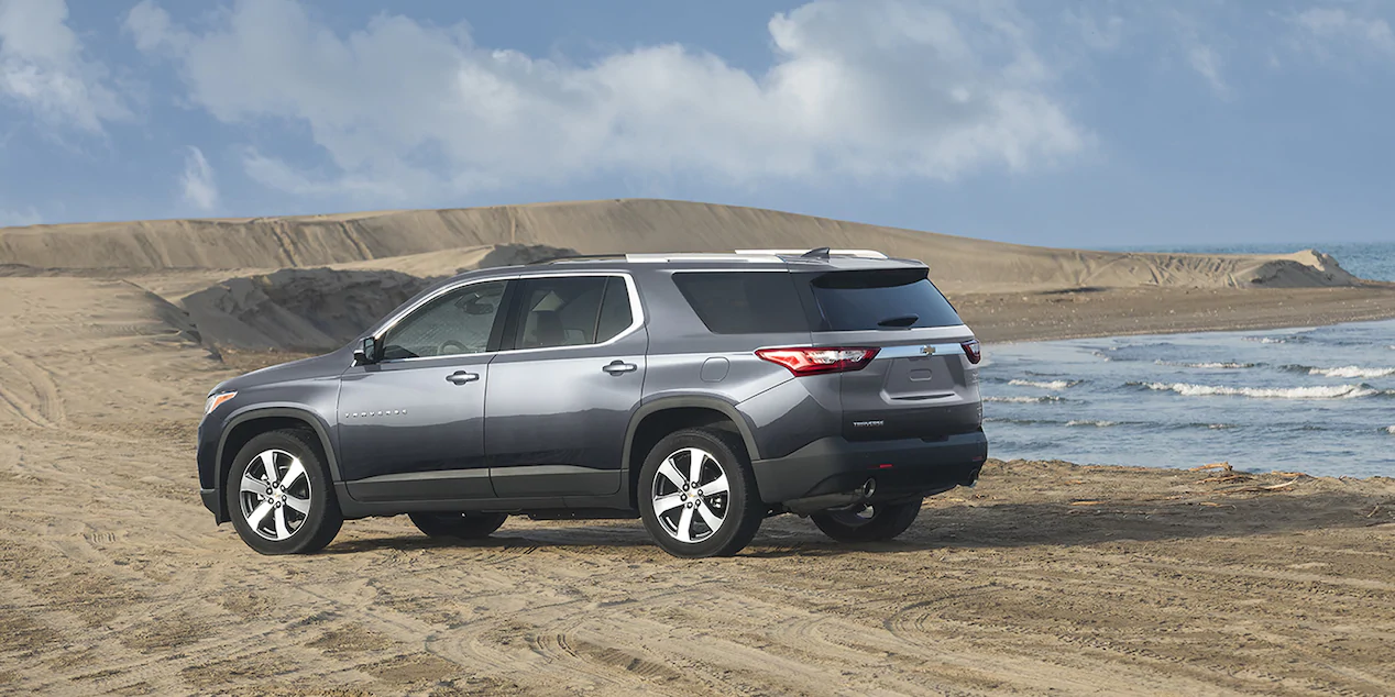 Chevrolet Traverse LT 2021 resena opiniones